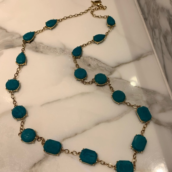 kate spade Jewelry - Kate Spade ♠️ turquoise gemstone necklace — NWOT